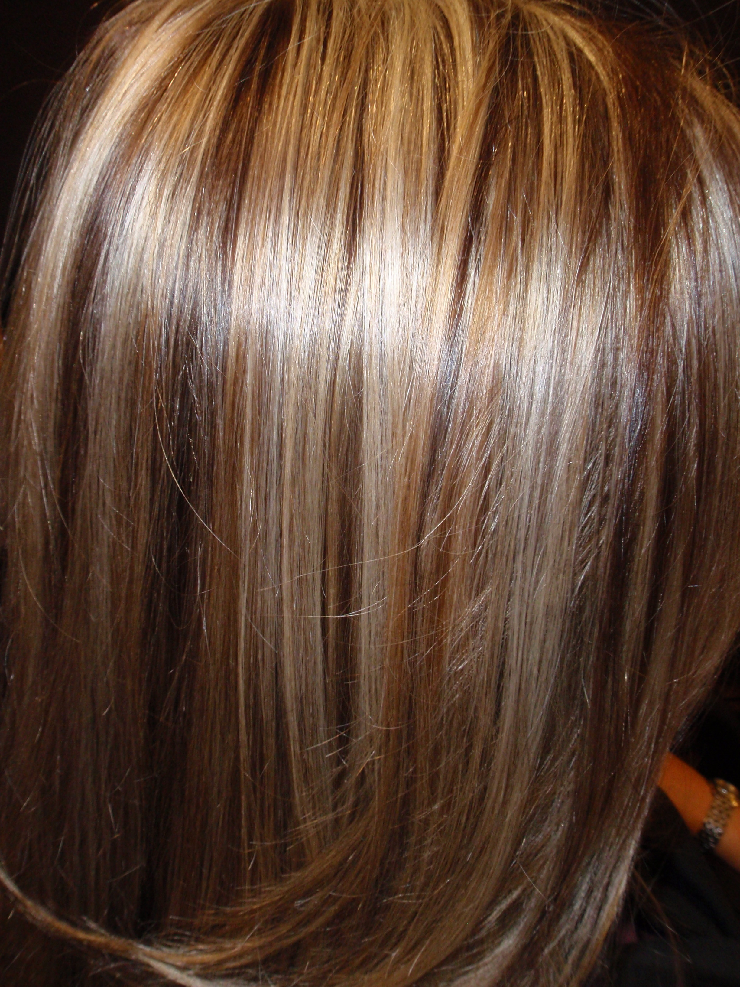 ... the nippy weather, get your hair ready and do some lowlights for fall