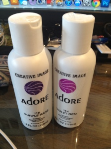 Adore-purple hair color
